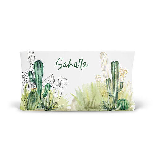 Personalized Changing Pad - Cacti