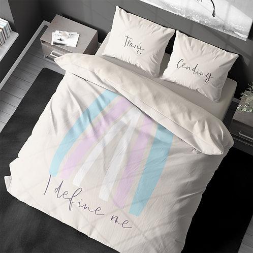 Personalized duvet cover - Pride Transgender