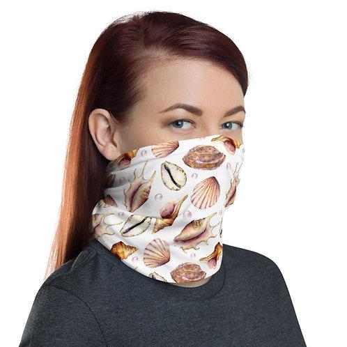 Multifunctional Face Mask - ocean sea shells