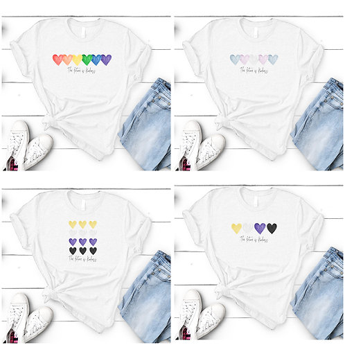 T shirt & accessories - Pride