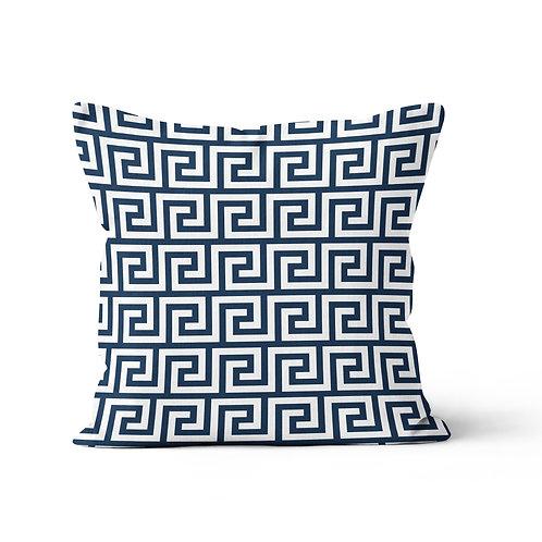 Throw Pillow - Greek Key pattern