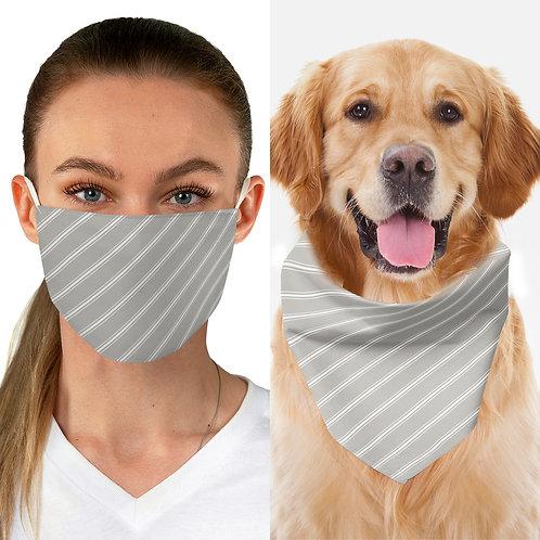 Matching Besties Set Mask & Bandana Collar - Any pattern