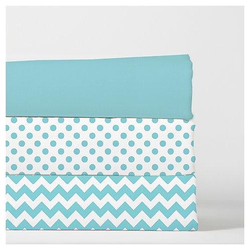 change pad cover - aqua