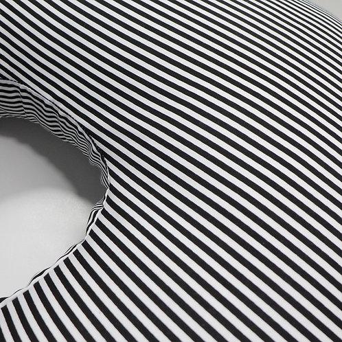 Nursing Pillow Cover - Black & White