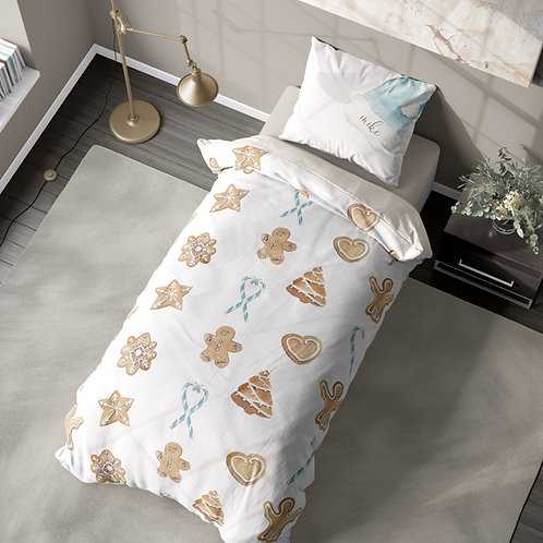 Personalized duvet cover - Gingerbread