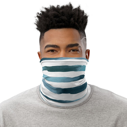 DYO - Face Mask - ocean stripes