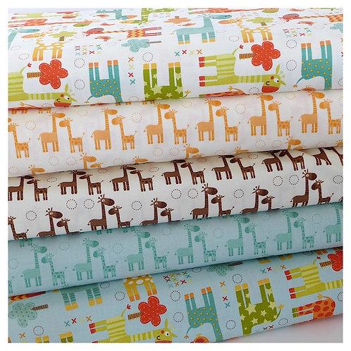 Giraffe - fitted sheet