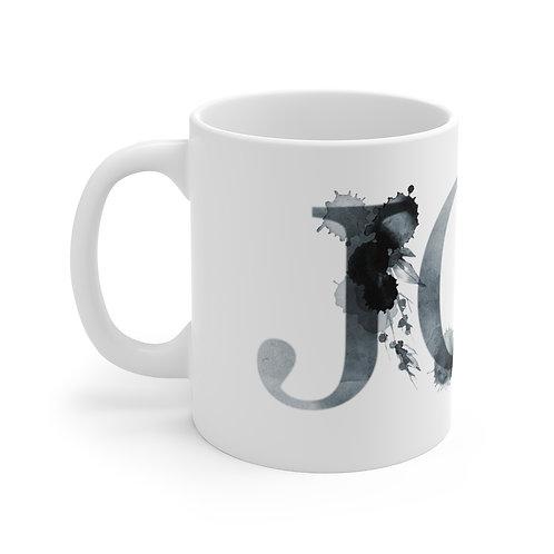 Ceramic Mug - Inkblot Alphabet