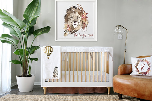 DYO - Custom 3pc Crib Set - Out of Africa