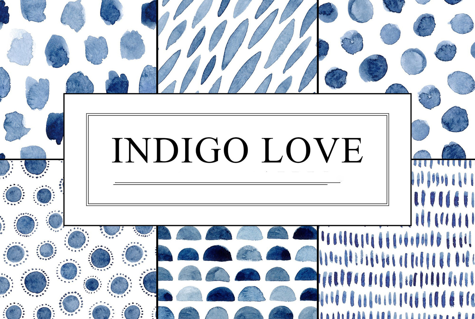 watercolor-indigo-blue-seamless-patterns
