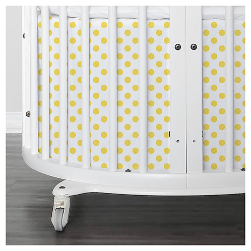 Stokke mini skirt - gray & yellow