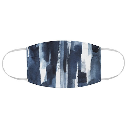 Personalized Fitted Face Mask - Gradient Ombre Neptune
