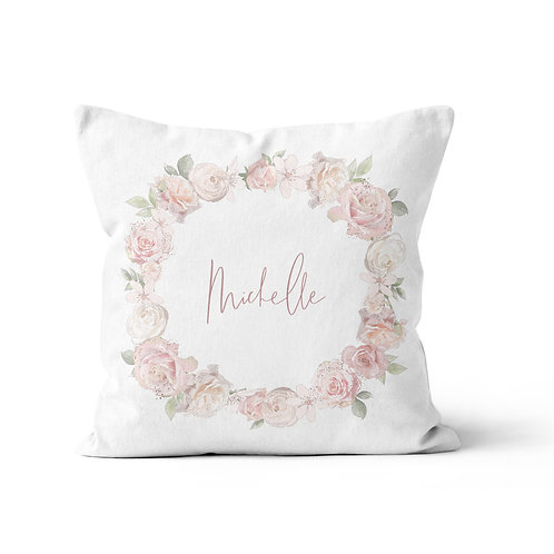 Throw Pillow - Royal ballet wreath