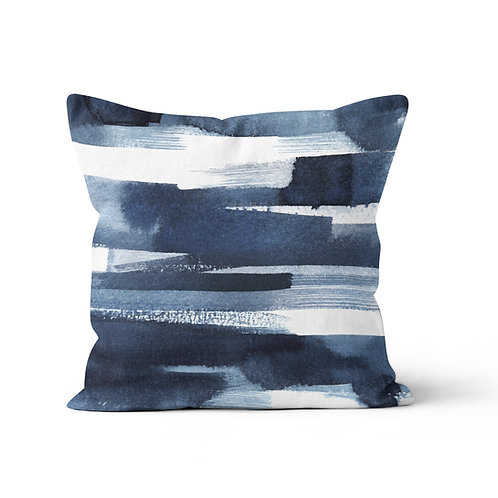 Personalized Throw Pillow - Neptune gradient ombre