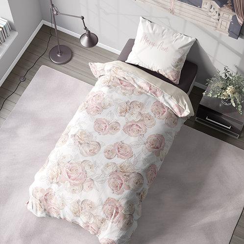 Personalized duvet cover - royal ballet roses