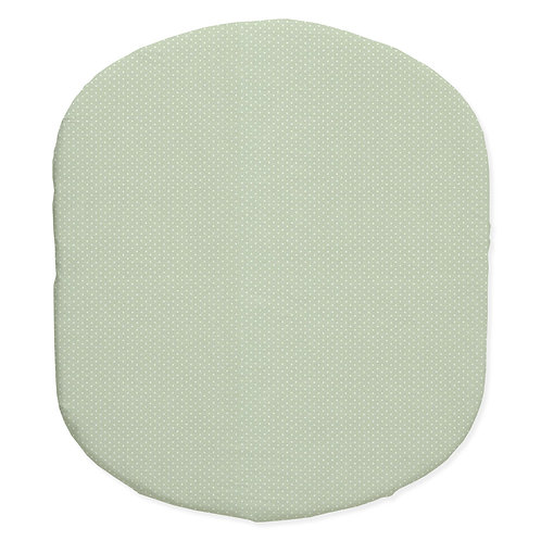 Hula bassinet fitted sheet - green