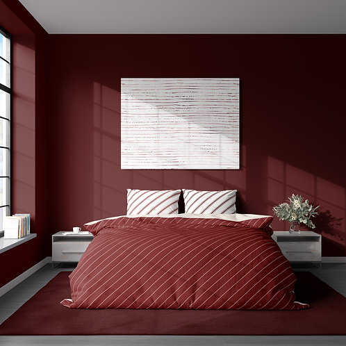 Duvet cover - Pinstriped suit pattern