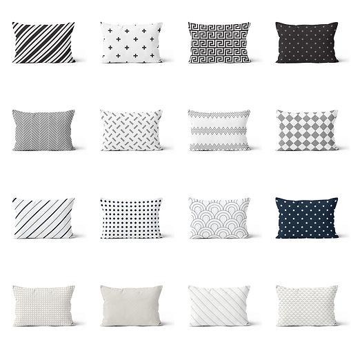 Neutral patterns-queen pillows.jpg