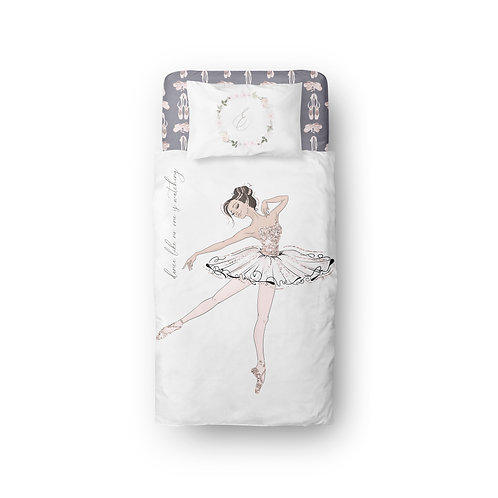 Personalized duvet cover - royal ballet