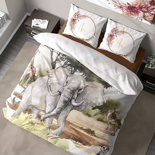 Personalized duvet cover - Safari