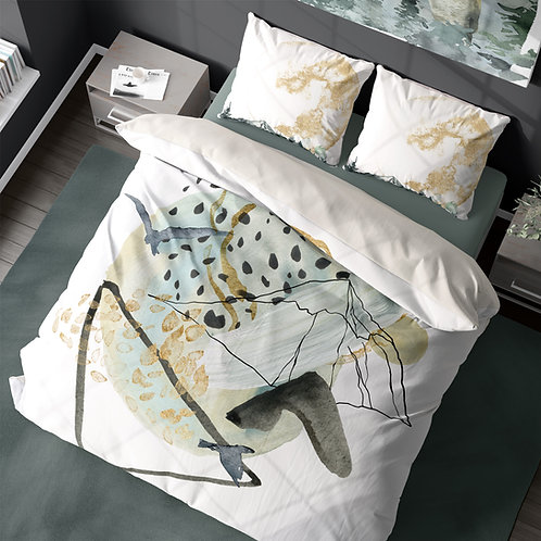 Personalized duvet cover - Enchanted abstracts