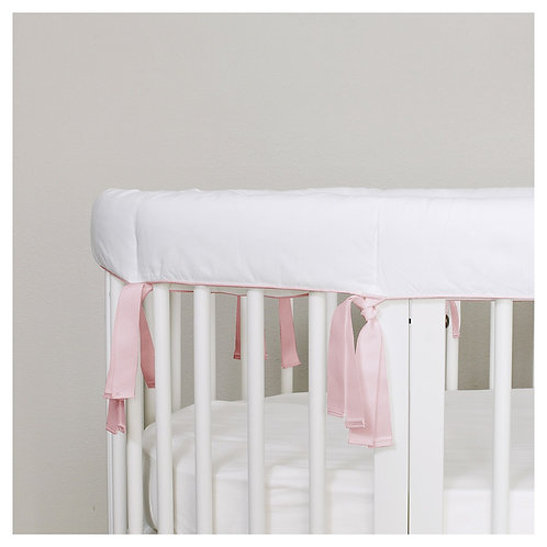 Oval teething guard - pure white