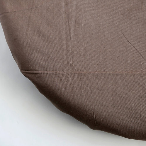 Clearance oval fitted sheet - Brown