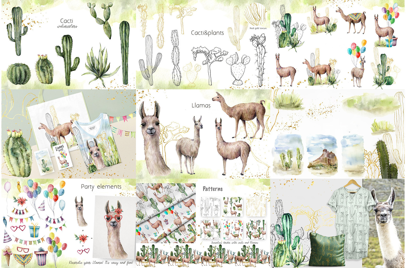 cacti llama collection