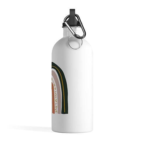 Water Bottle - Rainbow Love