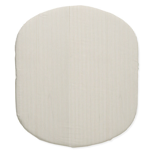 Hula bassinet fitted sheet - neutral