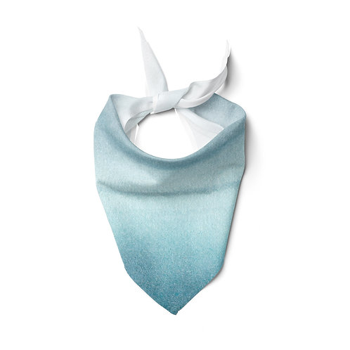 Light Sheer Scarf Ocean Gradient Ombre