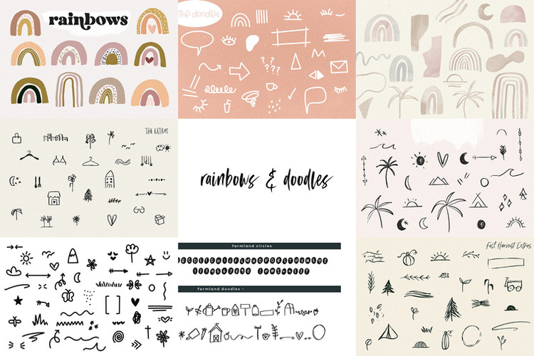 rainbows-doodles
