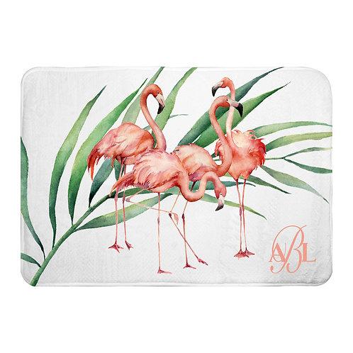 Bath Mat - Tropicana Flamingo