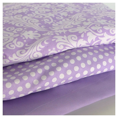 change pad cover - lavender