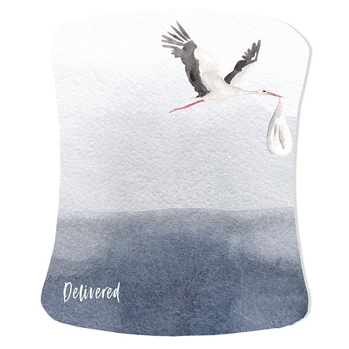 Personalized Stokke care cover - boho ombre stork