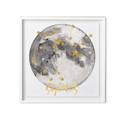 Fine art print - Zodiac moon