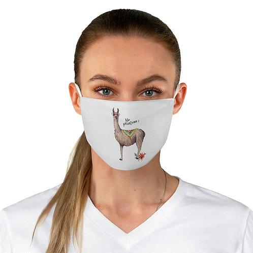 Fabric Face Mask // No ProbLlama Alpaca Desert