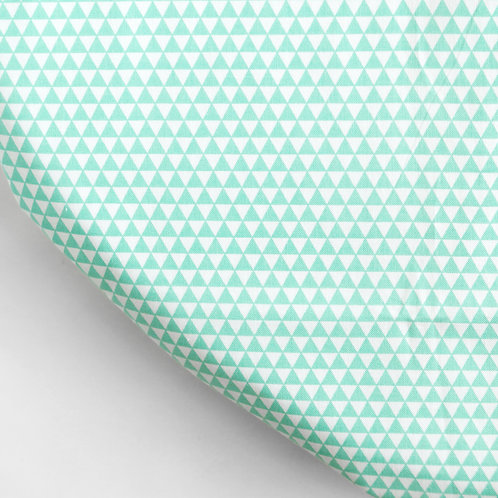 Clearance oval fitted sheet - Green