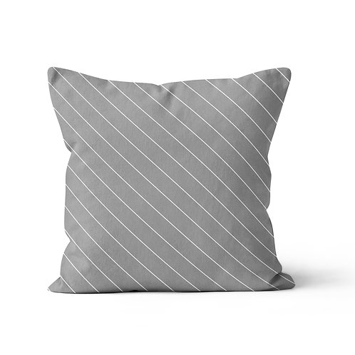 Throw Pillow - Pinstriped suits pattern