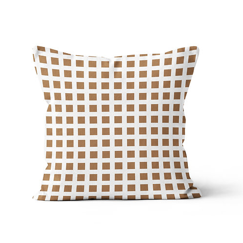 Throw Pillow - Squares pattern