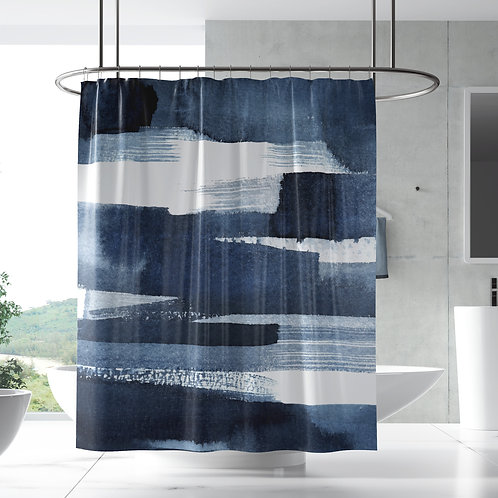 Shower Curtain - Neptune gradient ombre