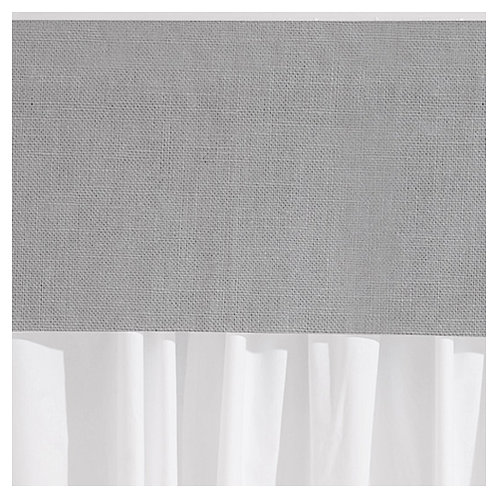 Valance - luxe french linen