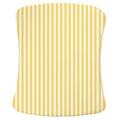 Stokke care change pad cover - gray & yellow