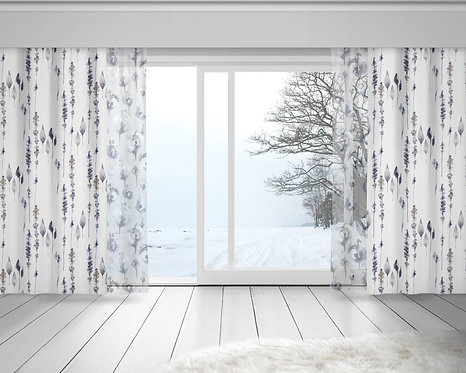 Everyday Curtains - Iceland patterns
