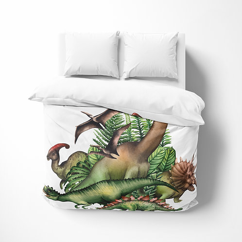 Personalized comforter - Dino Jurassic Park