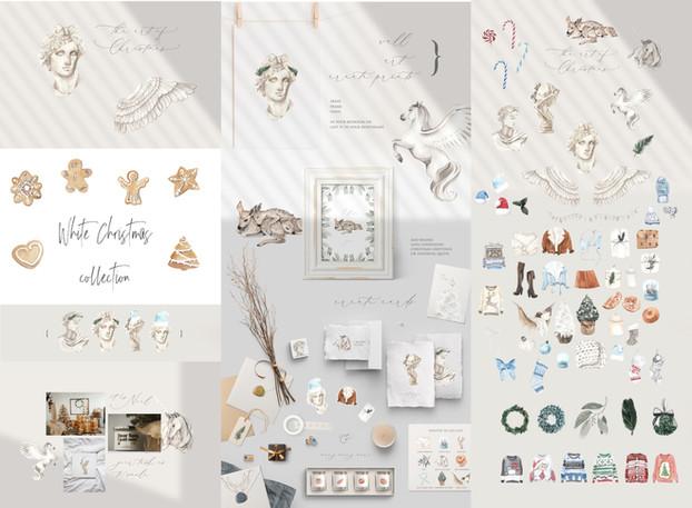White Xmas collection