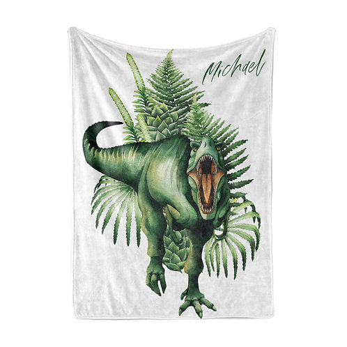 Personalized light blanket - Trex