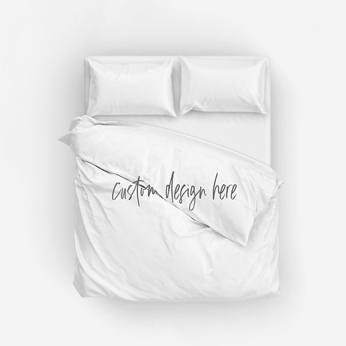 DYO Italian Cotton Duvet Cover