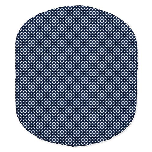 Hula bassinet fitted sheet - blue