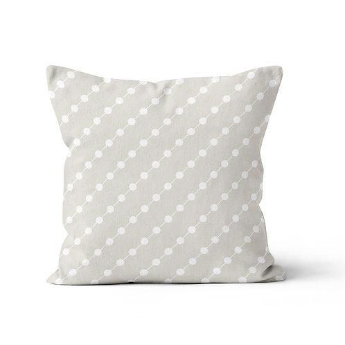 Throw Pillow - Beads pattern